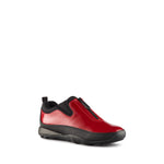 Cougar Patent Waterproof Rain Shoe - Style Howdoo, cherry, side