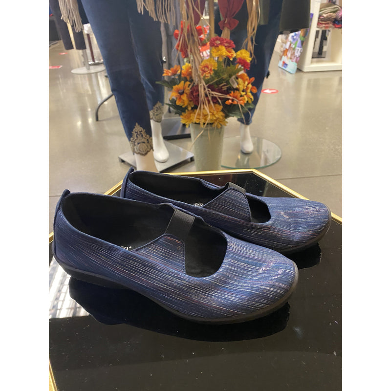 Arcopedico Vegan Leina Flat Shoes, navy