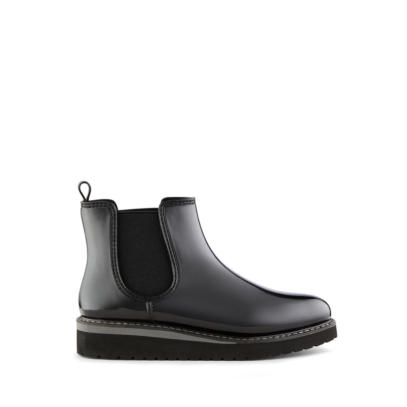 Cougar Chelsea Waterproof Rubber Ankle Boot - Style Kensington, black, side
