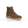 Bos & Co Suede Waterproof Bootie - Style Beat, tan, right side