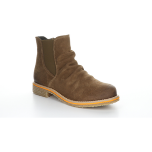 Bos & Co Suede Waterproof Bootie - Style Beat, tan, right side2
