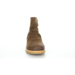 Bos & Co Suede Waterproof Bootie - Style Beat, tan front