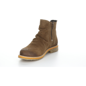 Bos & Co Suede Waterproof Bootie - Style Beat, tan, front2