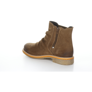 Bos & Co Suede Waterproof Bootie - Style Beat, tan, left side2