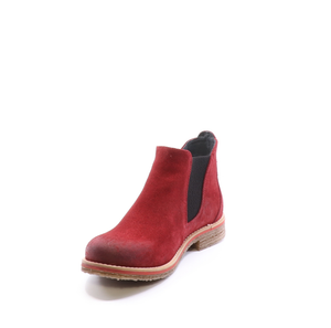 Bos & Co Waterproof Suede Bootie - Style Brave, front