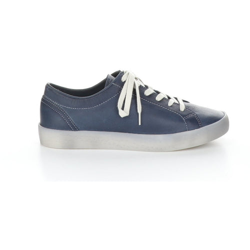 Softinos by Fly London Flat Lace-Up Sneaker - Style Sady, outside