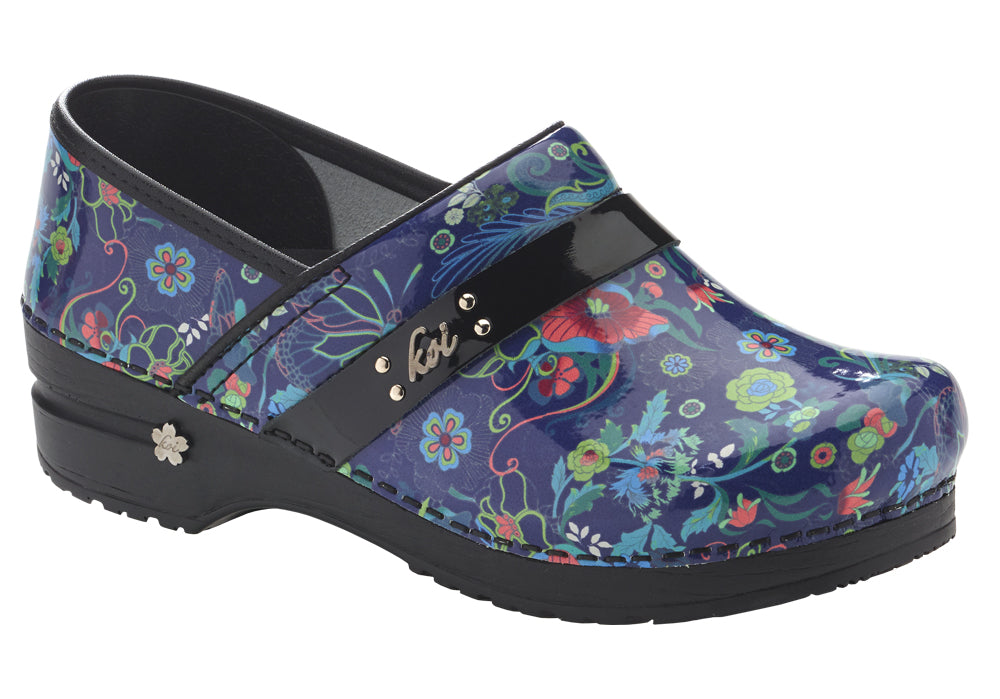 Secret Garden Women's in Multi color Clog