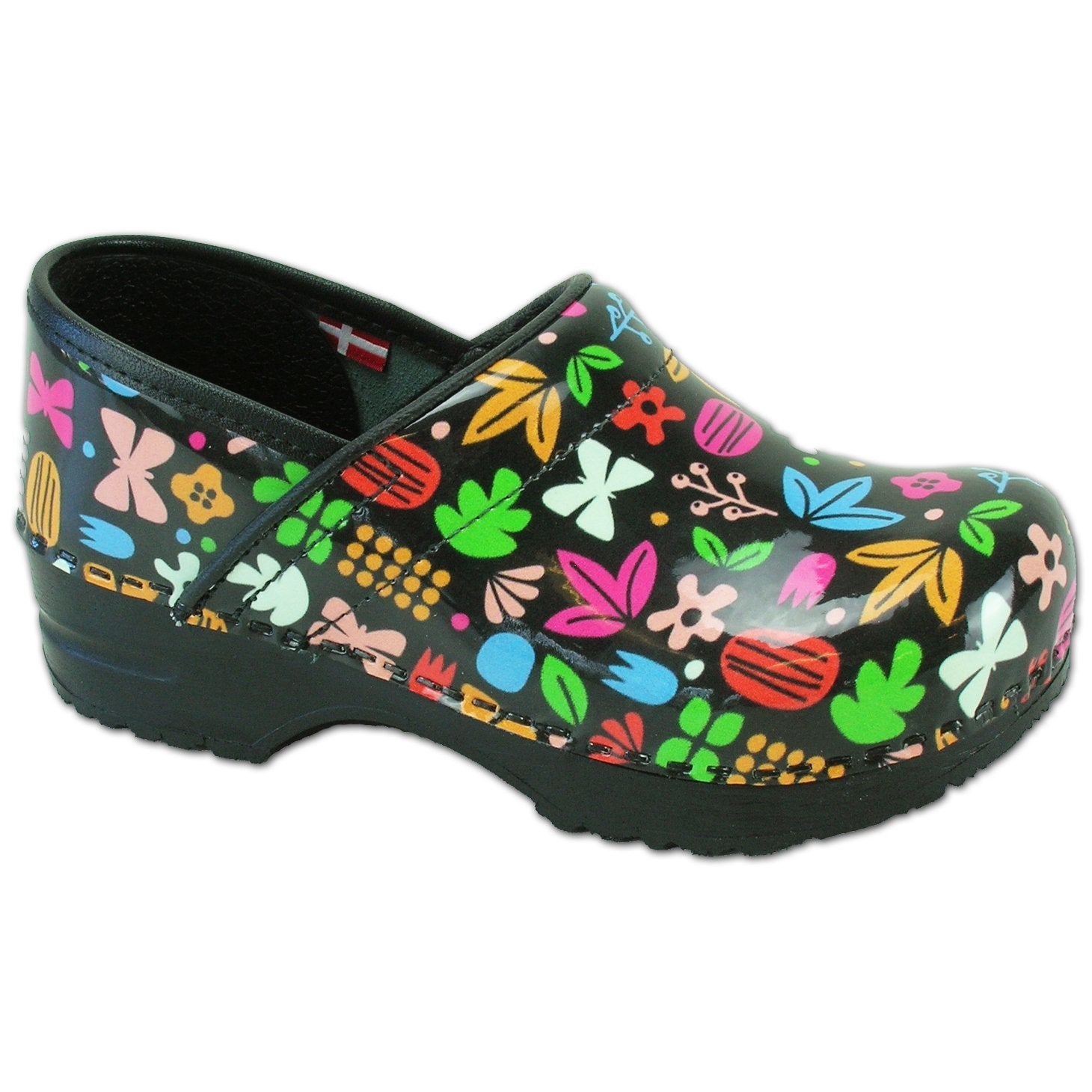 Sanita Flower Kids' Closed Back Clog