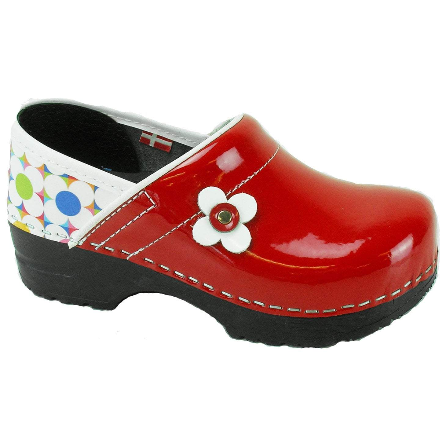 Sanita Blush Kids' Closed Back Clog