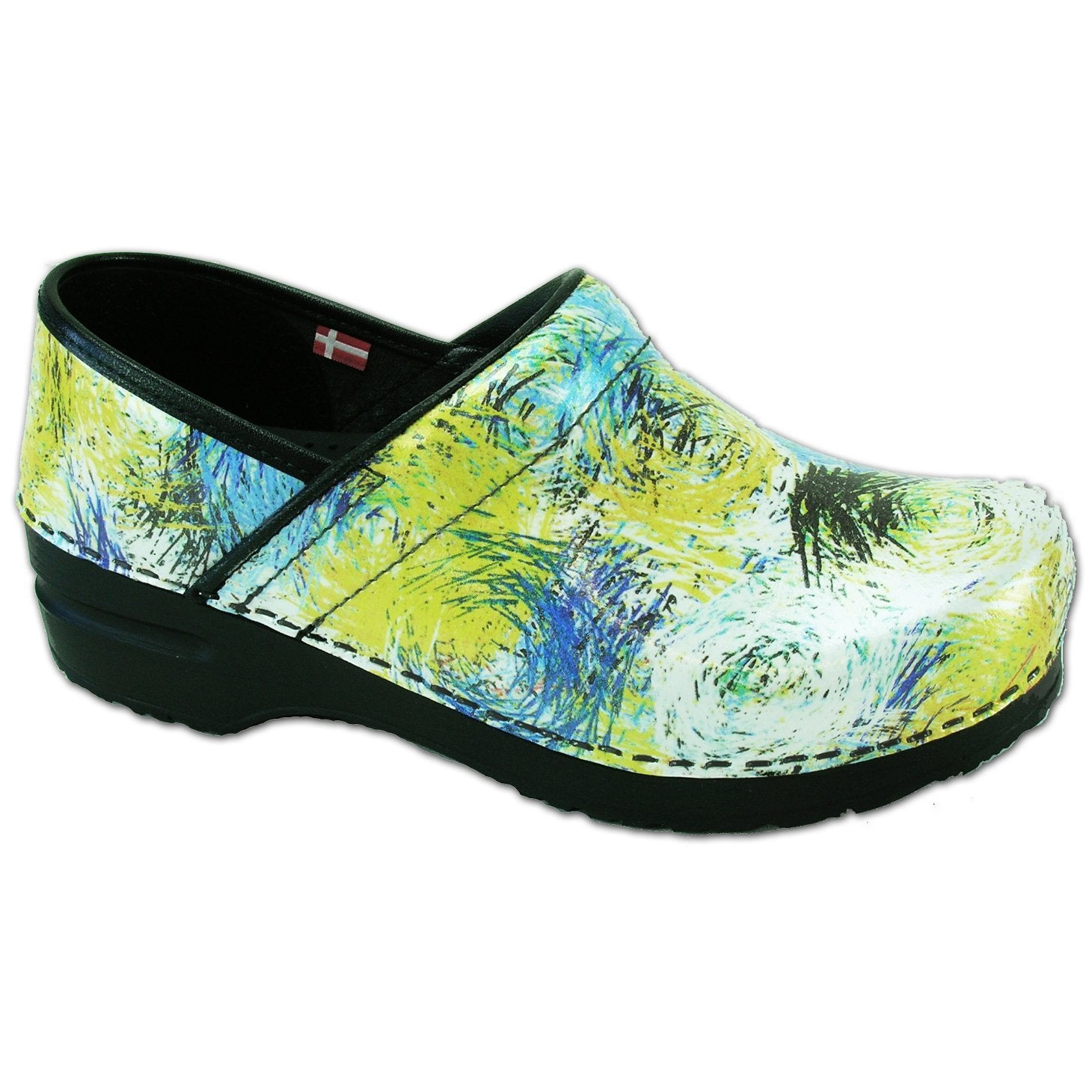Sanita Limited Grass Women's Closed Back Clog