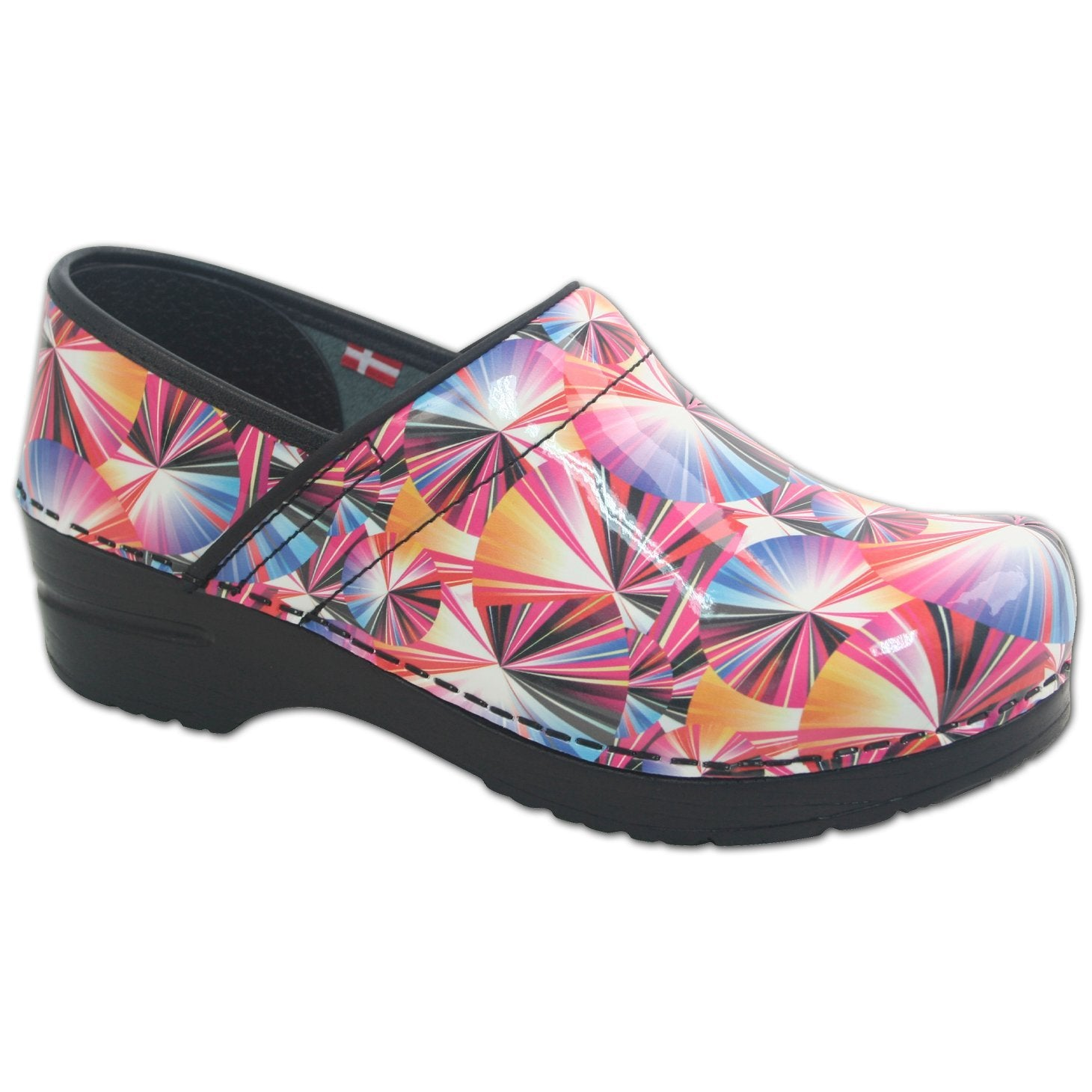 Sanita Geo Women's Closed Back Clog