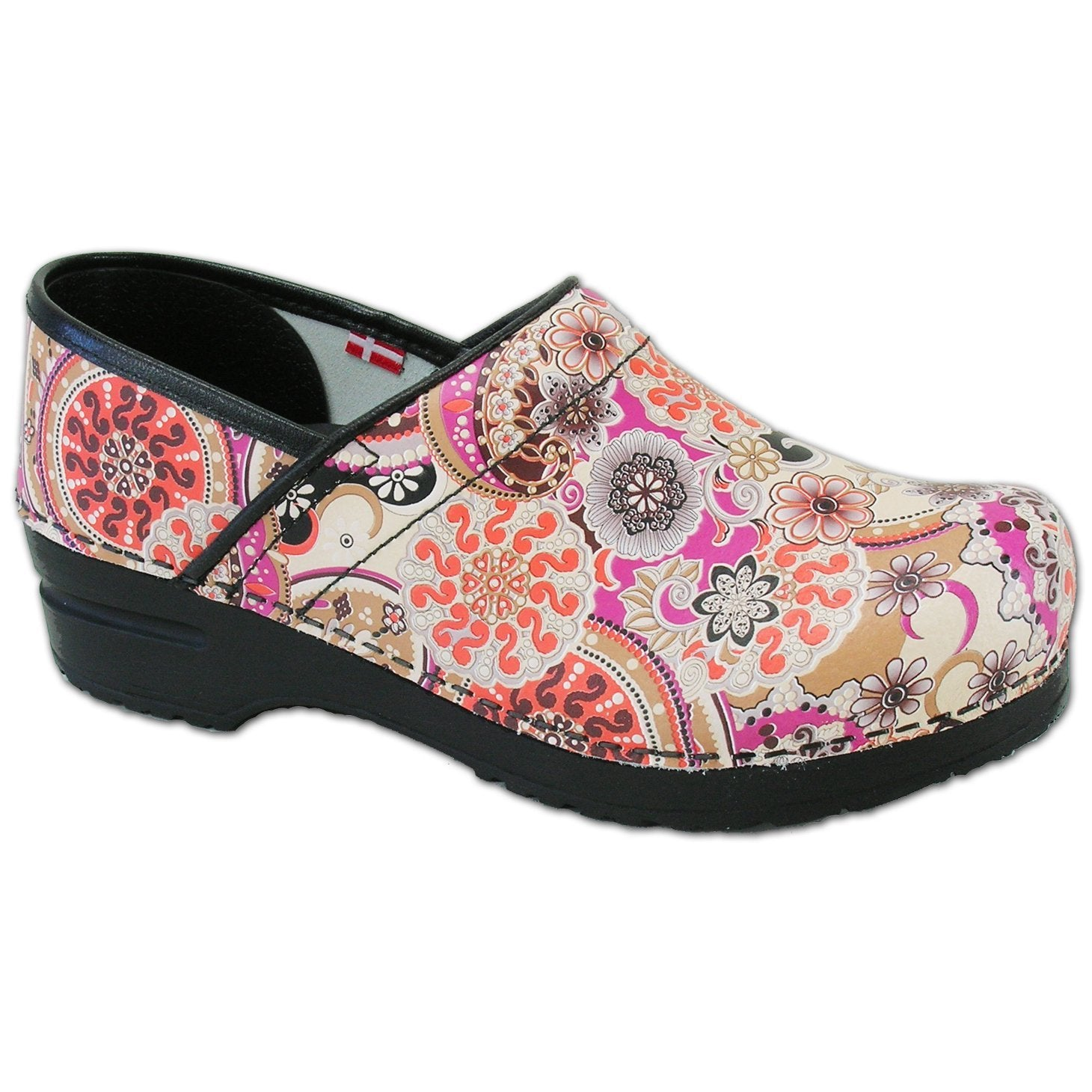 Sanita Limited Paisley Women's Closed Back Clog