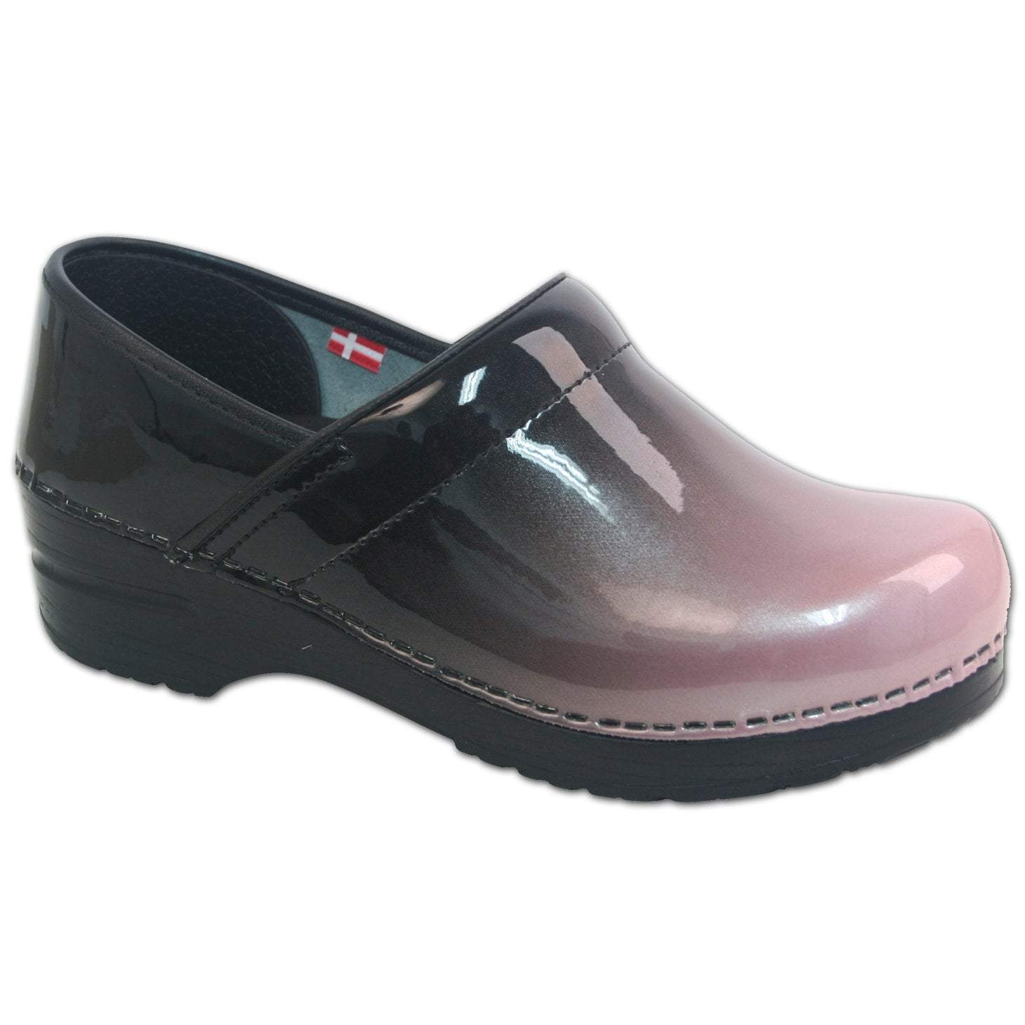 Sanita Milan Women's in Pink Closed Back Clog