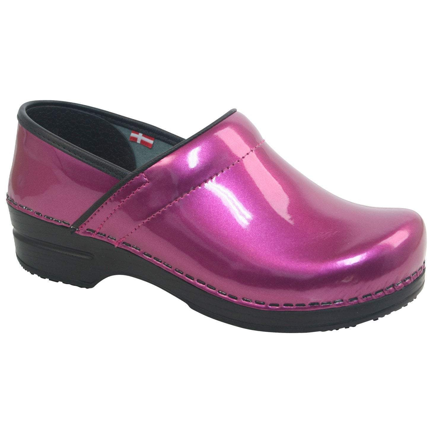 Sanita Sabel Women's in Purple Closed Back Clog
