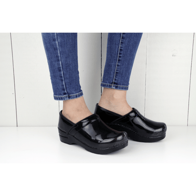 Sanita Milan Women's in Black Closed Back Clog