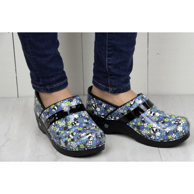Sanita Panda Flower Women's Closed Back Clog