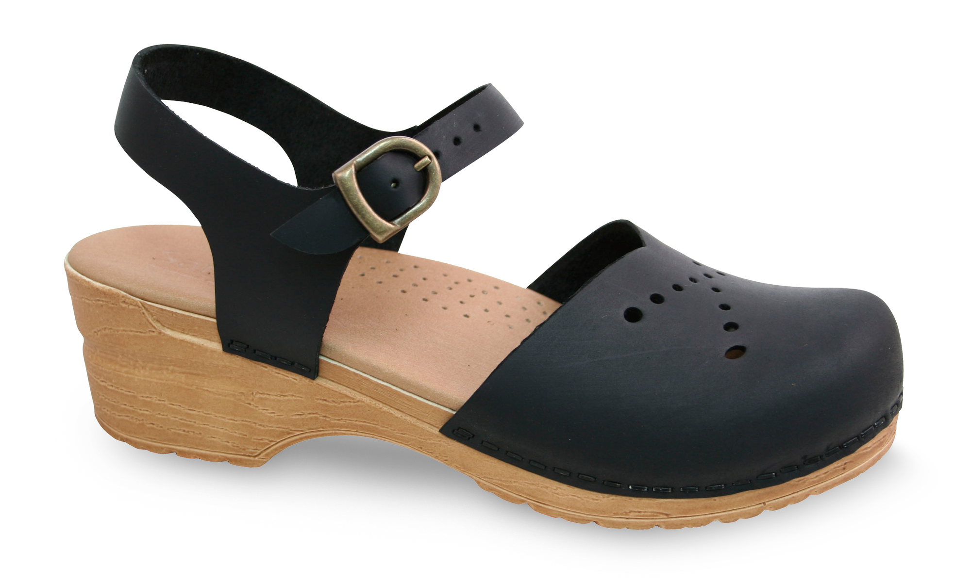 Sanita Crawford Women's in Black Sandal