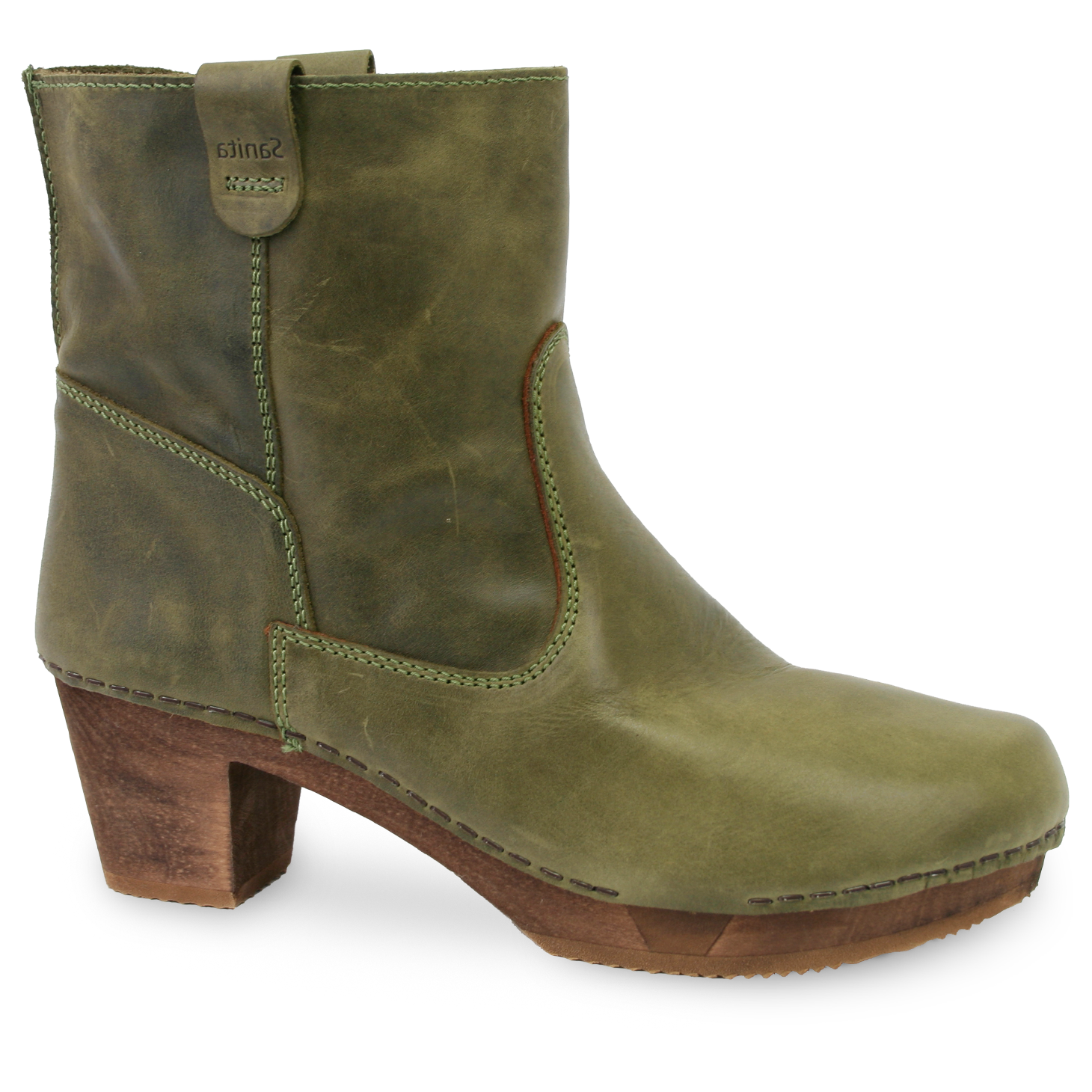 Sanita Juna Women's in Moss Boot
