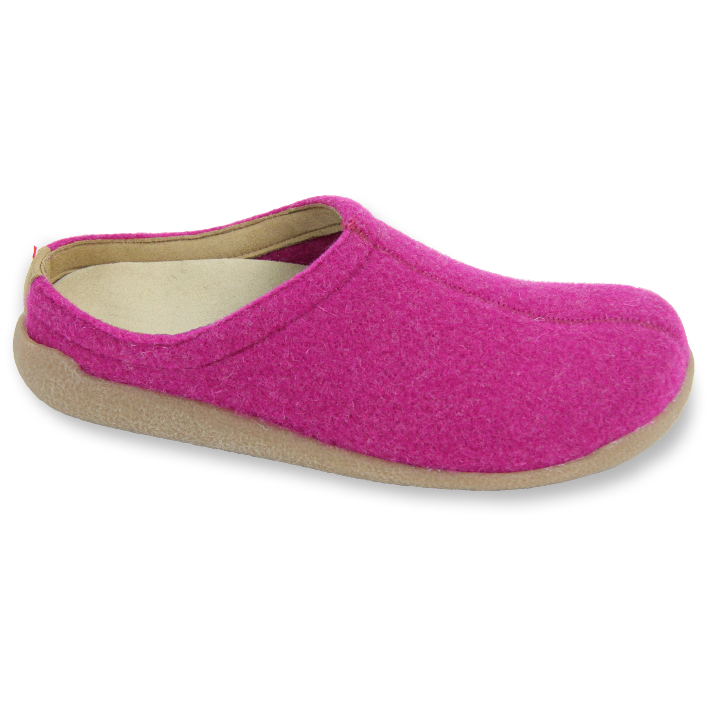 Sanita Lodge Slide Unisex in Fuchsia Slipper