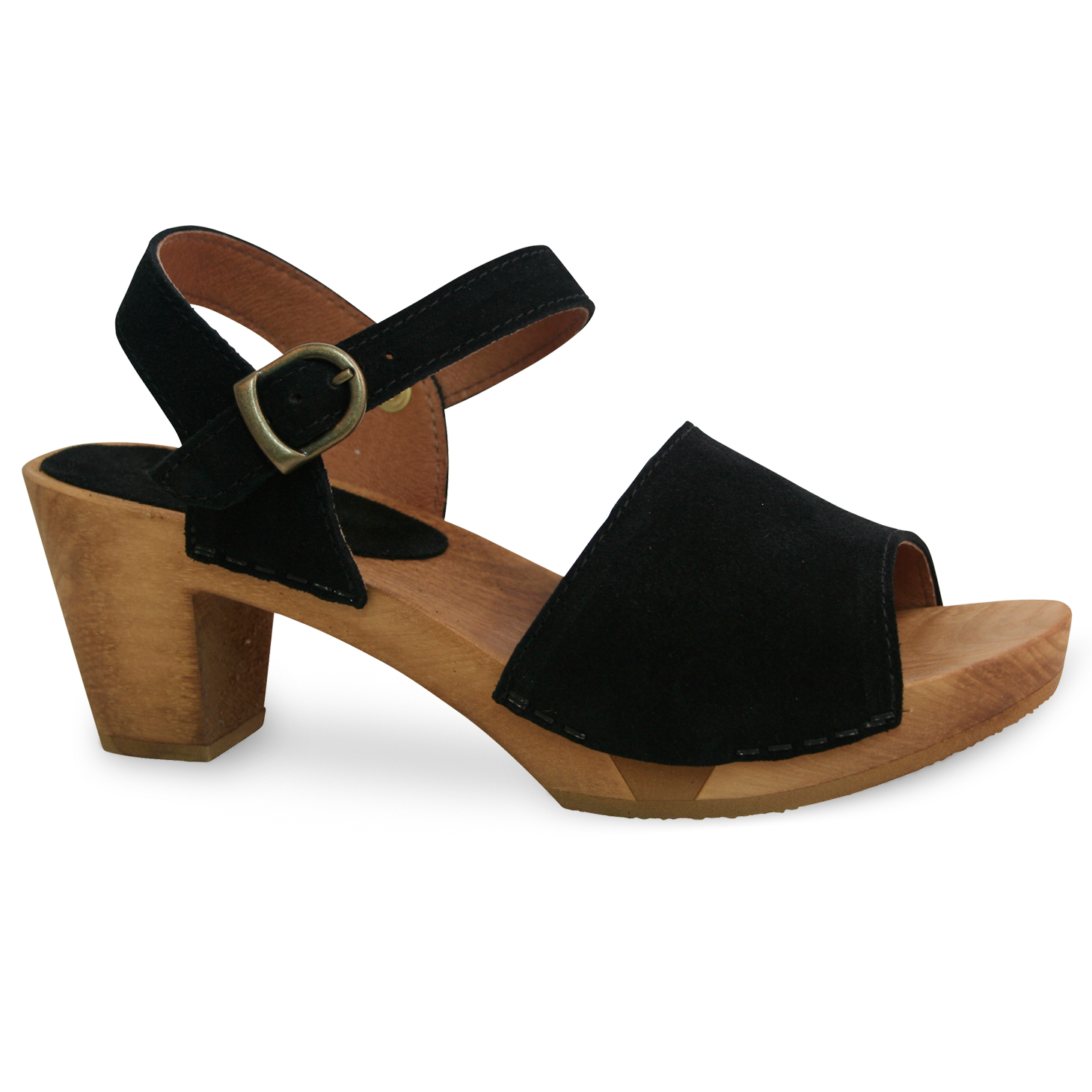Sanita Menna Women's in Black Sandal