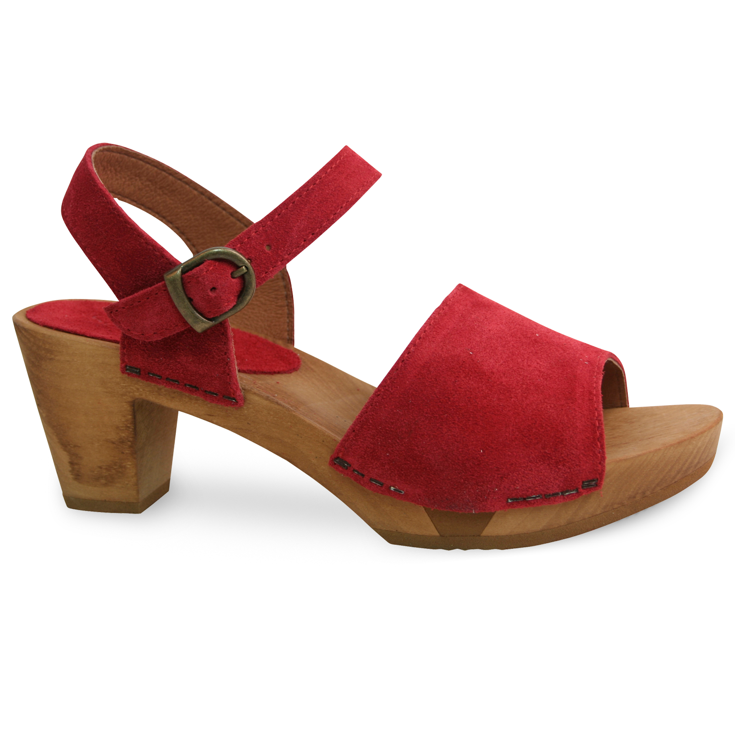 Sanita Menna Women's in Red Sandal