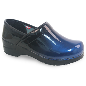 Sanita Milan Women's in Blue Closed Back Clog