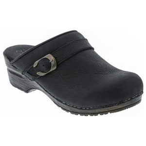 OLGA Open Back Clog in Yak Leather
