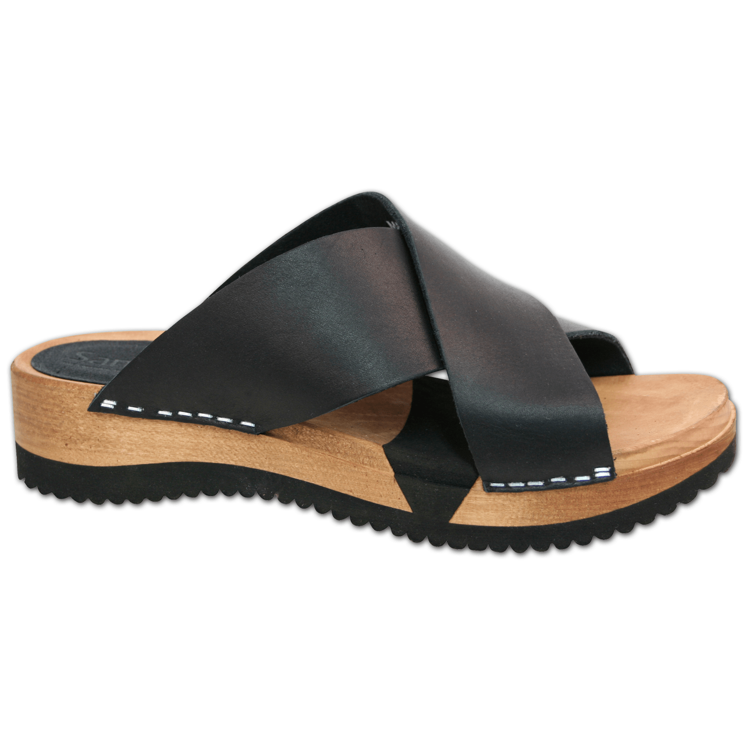 Sanita Tida Women's in Black Sandal
