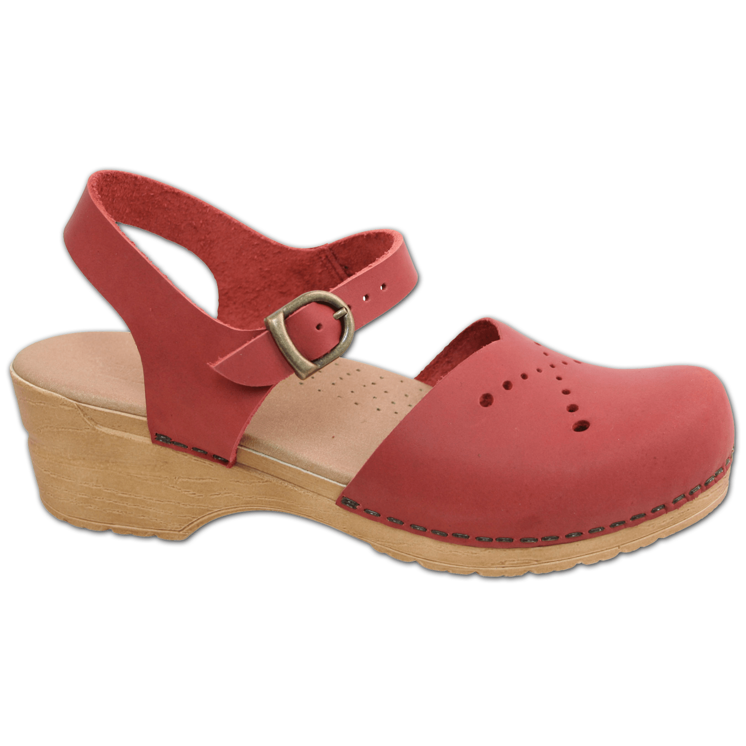 Sanita Crawford Women's in Red Sandal