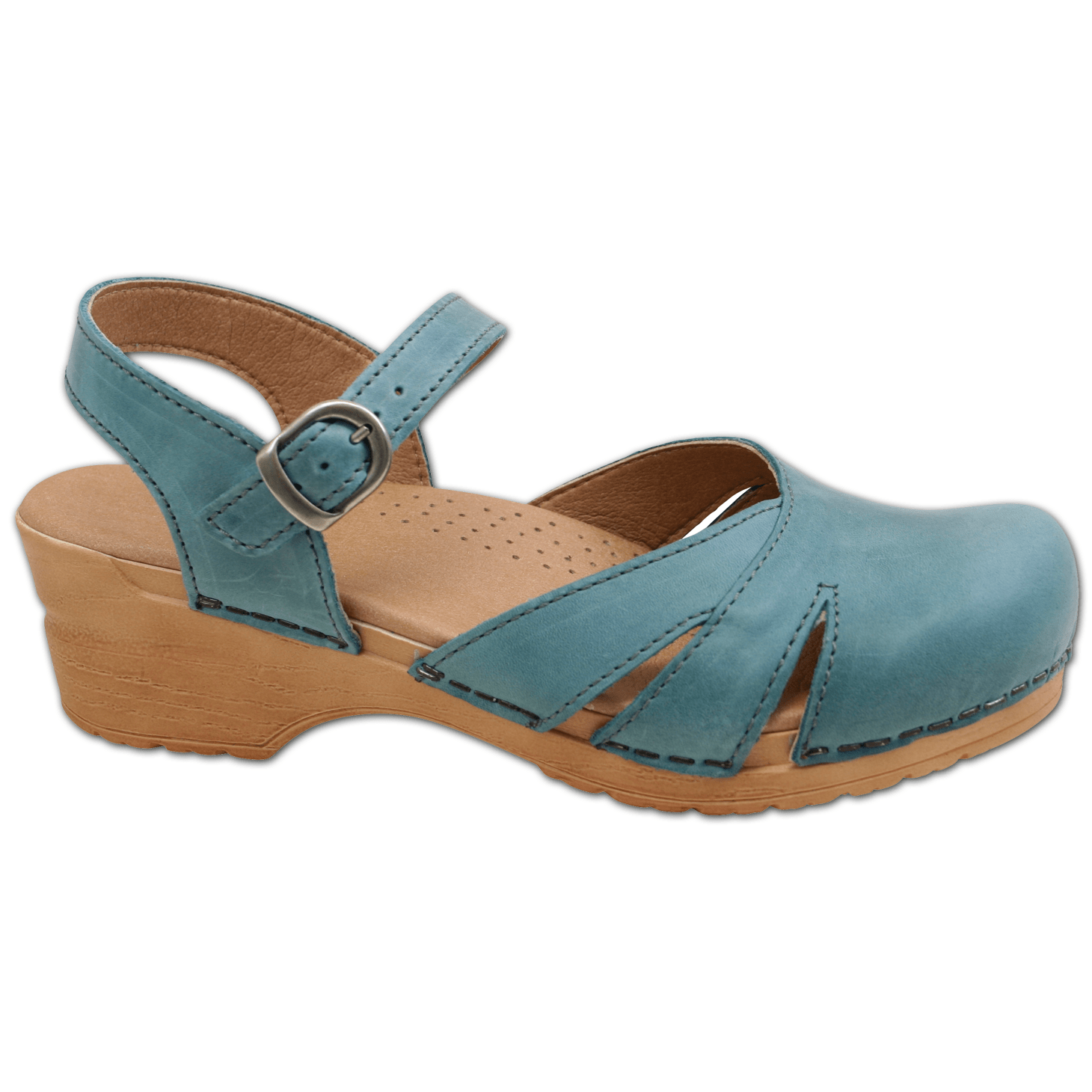 Sanita Margrethe Women's in Petrol Sandal