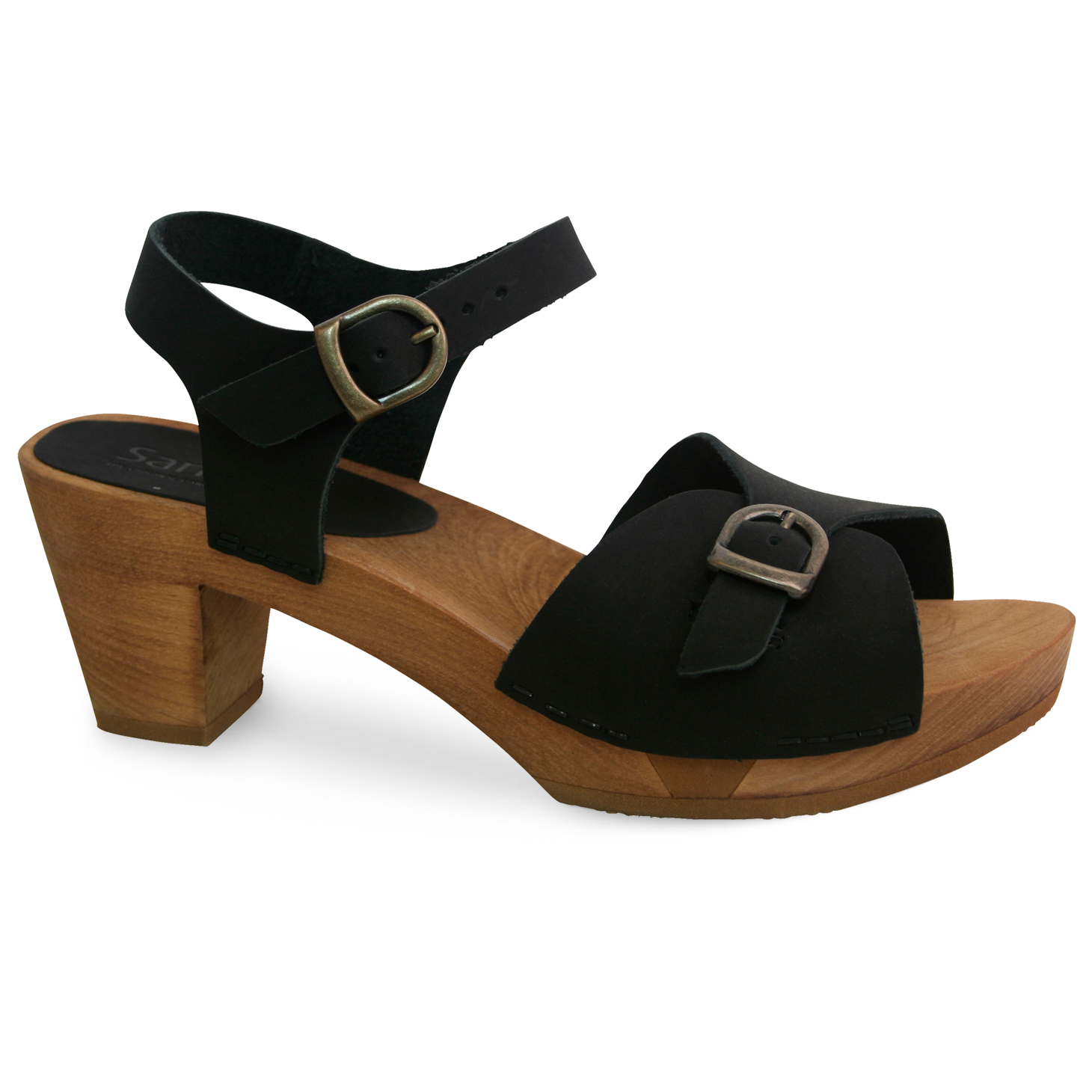Sanita Tiana Women's in Black Sandal