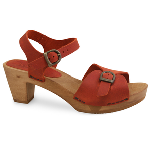 Sanita Tiana Women's in Burnt Orange Sandal