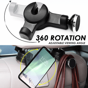 Car Back Seat Magnetic Hook
