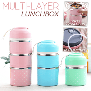 Multi-Layer Lunchbox