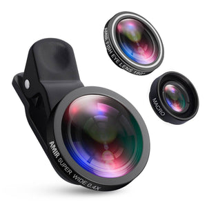 3 in 1 Phone Lens Kit - Clevativity