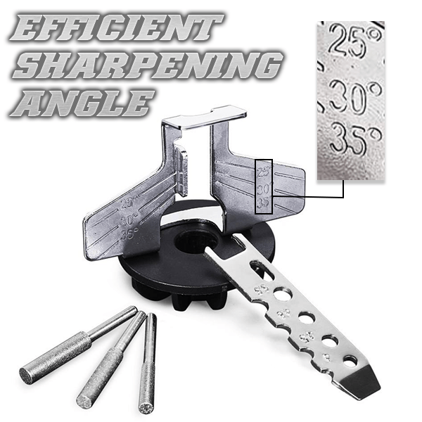 Power-Sharp Saw Grinding Handy Tool Set