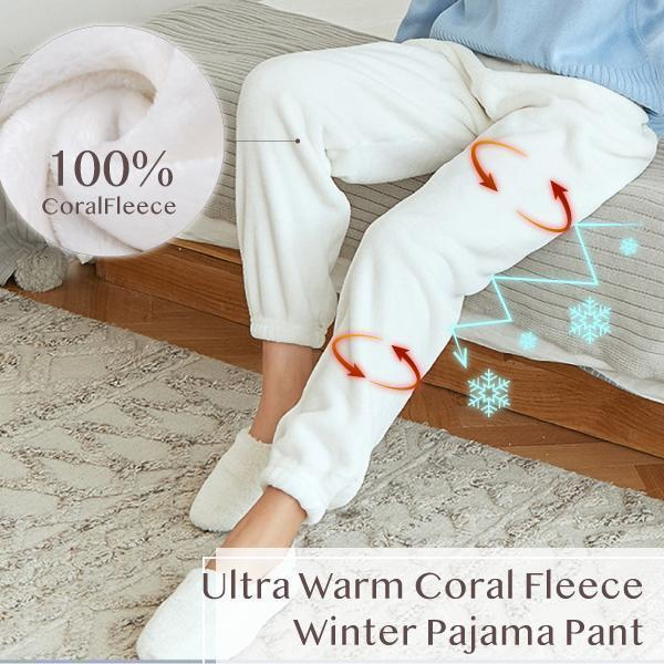 Ultra Warm Coral Fleece Winter Pajama Pant