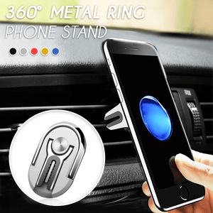 360° Metal Ring Phone Stand