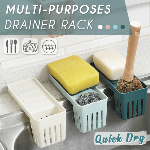 Multi-purposes Drainer Rack