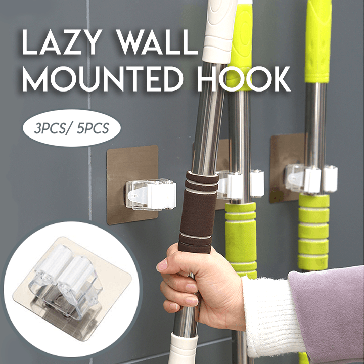 Lazy Wall Mounted Hook