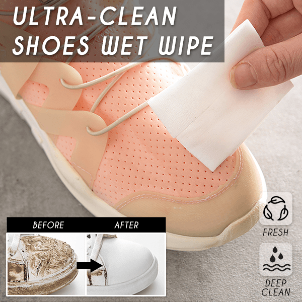 Ultra-Clean Shoes Wet Wipe