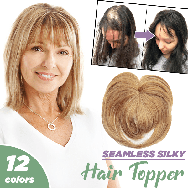 Seamless Silky Hair Topper