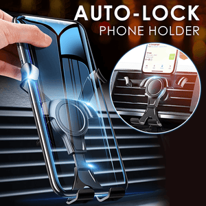 Universal Auto-lock Phone Holder
