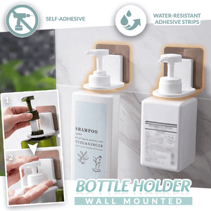Wall Mounted Bottle Holder