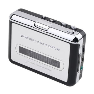Portable Cassette To mp3 Music Converter - Clevativity