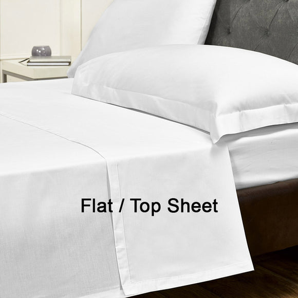 1600TC HOTEL EGYPTIAN COTTON 1 FLAT (TOP) SHEET