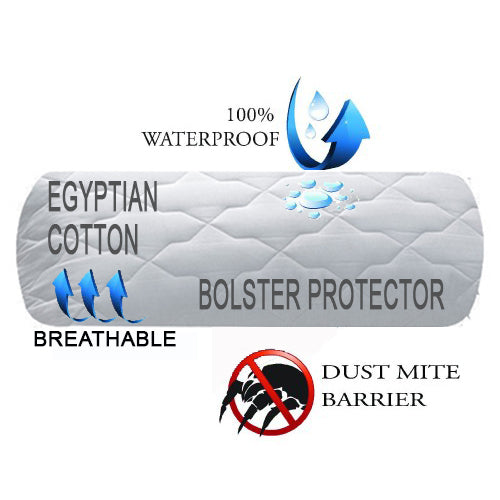 Allergy Barrier Waterproof Cool Bolster Protector (180009)