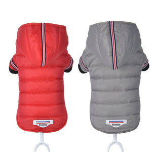 Feather Dog Warm Down Jacket - 2 Dogs & A Cat