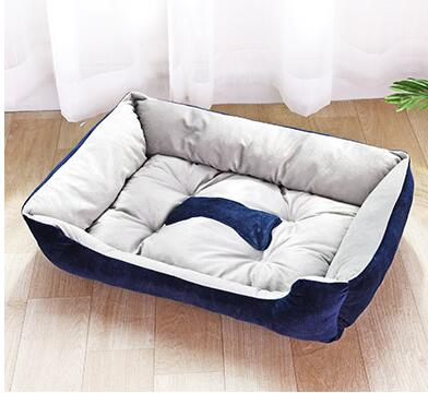 Mechanical Wash Nest Poodle Dog Bed - 2 Dogs & A Cat