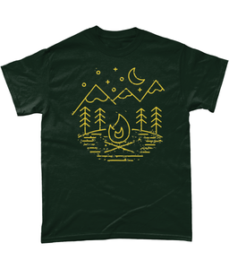 'Camping' T Shirt - Outdoor Clothing | Kelpie Clothing